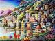 Kit per Diamond Painting, Pittura A Mosaico Fai-da-Te 5D Gunsan House Ricamo con Strass, D...