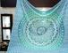 Aakriti Gallery Tapestry Regina Verde Ombre Hippie Arazzo Mandala Bohemian Psichedelico in...