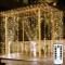 Fenvella Tenda Luci, 3m*3m Tenda Luminosa con 8 Modalitàcon, 300 Led e IP66 Impermeabile L...