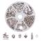 PandaHall Elite Circa 330pcs/scatola Kit per Gioielli con 130pz Pendenti Charms di Parol(5...