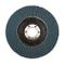 Silverline, 868821, Zirconio lembo del disco 115 mm, 60-grana