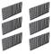 Wetrys - 6 pannelli divisori per acquario con griglia di isolamento per il contenitore del...