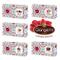 Gangemi Confettata Laurea - Degustazione Confetti Artigianali Gusti Misti Confetti Rosso L...