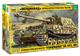 Zvezda 3653 500783653-1:35 SD. Kfz.184 Ferdinand Tiger, modellino di Costruzione, modellis...