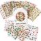Nicedeco Più di 1500 pezzi (50 fogli) Tema di Natale Nuovo Anno Vacanza Invernale 3D Stick...