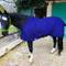 Pferdelinis Coperta per Cavallo con Fascia Incrociata per Cavalli, Pony - Coperta Traspira...