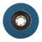 Silverline 633890 - Disco lamellare allo zirconio, 115 mm, grana 40