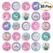 TUPARKA 30 Pezzi Unicorn Pins Bottoni Arcobaleno Distintivi Pin Backs per Gli Abiti Borse...