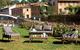 Gruppo Maruccia Salotto per Giardino ED Hotel in Alluminio Effetto Legno Quattro POSTI con...