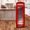 XIAOMAN Adesivi per frigo da Cucina Cabina telefonica Britannica HD Frigorifero Porta Wrap...