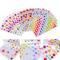 54 fogli Adesivi Etichette Adesive Cuore Stelle Colorati Masking Tape Sticker Decorazioni...