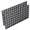Tookie Fish Tank isolare Board, trasparente nero griglia vassoio separatore uovo cassa acq...