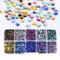 Blinginbox Diamanti sintetici di vari colori e misure AB, strass di cristallo di qualità D...