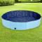 AQPET piscina in plastica per cane animali domestici pieghevole da giardino 120x30 (ØxH)