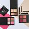 Kit make up: 3 palette + 4 pennelli + beauty box