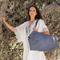 Borsone mare Apulia in cotone e lino