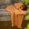 2 asciugamani in cotone e modal a nido d'ape