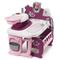 Smoby Gioco Bambole Set Culla Cucina Bagnetto Baby Nurse