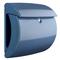 BURG-WÄCHTER Cassetta della Posta Piano 886 LB in Plastica Azzurro