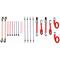 Toolland Set di Cinghie a Cricchetto e Corde Elastiche 20 pz ARATS2