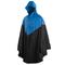 Willex Poncho da Pioggia con Cappuccio Taglia L/XL Blu e Nero 29220