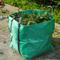 Nature Borsa Rifiuti Giardino Quadrata Verde 325 L 6072401