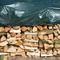 Nature Telone cerato per legna 5 x 6 m in PE verde 6072420