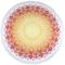 HIP Telo da Spiaggia 2065-H Silvia 160 cm Rotondo Multicolore