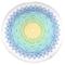 HIP Telo da Spiaggia 2067-H Carola 160 cm Rotondo Multicolore