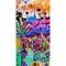 Good Morning Telo da Spiaggia GRAFFITY 75x150 cm Multicolore