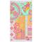 Happiness Telo da Spiaggia ZALIPIE 100x180 cm Multicolore