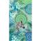 HIP Telo da Spiaggia TALISA 100x180 cm Verde e Blu