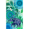 HIP Telo da Spiaggia ISARA 100x180 cm Blu e Verde
