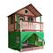 AXI Tenda per Casa per Bambini in Plastica Verde A030.186.00