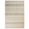 vidaXL Tappeto Moderno con Motivi Tradizionali 80x150 cm Beige/Grigio
