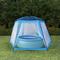 vidaXL Tenda per Piscina in Tessuto 500x433x250 cm Blu