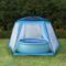 vidaXL Tenda per Piscina in Tessuto 660x580x250 cm Blu