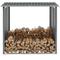 vidaXL Capannone da Giardino in Acciaio Zincato 172x91x154cm Grigio