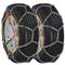 vidaXL Catene da Neve 2 pz 12 mm KN 90 205/55-16 205/65-15 205/50-17