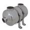 vidaXL Scambiatore di calore per piscina 292 x 134 mm 28 kW