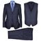 vidaXL Completo Uomo Business 3 Pezzi Misura 50 Blu Marino
