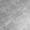 vidaXL Canaletta Drenaggio per Doccia Lineare 930x140 mm Acciaio Inox
