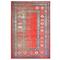 vidaXL Tappeto Rosso 120x170 cm in PP
