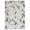 vidaXL Tappeto Grigio e Bianco 120x170 cm in PP