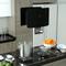 vidaXL Cappa da Cucina ad Isola Sospesa LCD Sensore in Vetro Temperato