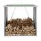 vidaXL Capannone da Giardino in Acciaio Zincato 163x83x154 cm Verde