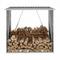 vidaXL Capannone da Giardino in Acciaio Zincato 163x83x154cm Antracite