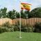 vidaXL Bandiera della Spagna 90x150 cm
