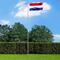 vidaXL Bandiera Olandese con Pennone in Alluminio 6,2 m