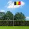 vidaXL Bandiera del Belgio con Pennone in Alluminio 6,2 m